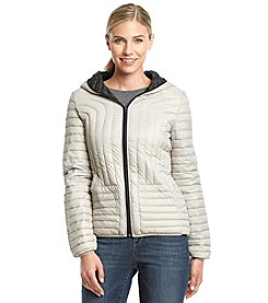 Halifax Short Packable Jacket with Vertical Seaming