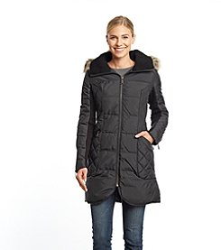 BCBG™ Three Quarter Down with Quilted Sides