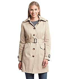 MICHAEL Michael Kors® Single Brested Trench with Tonal Buttons