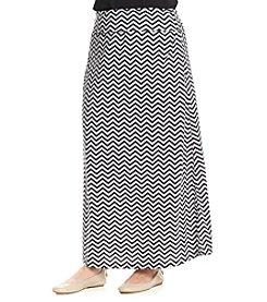FreeBird Chevron Maxi Skirt