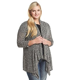 Living Doll® Plus Size Chain Stitch Cardigan