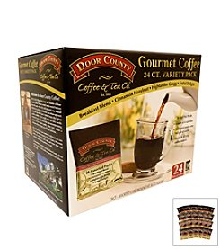 Door County Gourmet Coffee 24-Ct. Variety Full Pot Coffee Packs