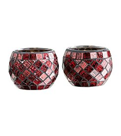 The Pomeroy Collection Set of Two Red Relic Votives