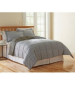 LivingQuarters Cheetah Microfiber Down-Alternative Comforter