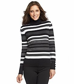 Spense Stripe Turtleneck