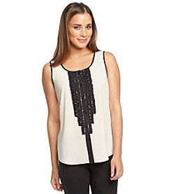Spense® Sleeveless Blouse