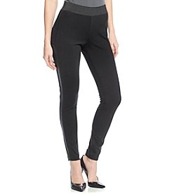 MICHAEL Michael Kors® Faux Leather Panel Pants