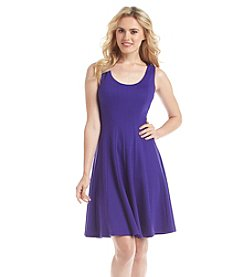 Nine West® Seamed Fit And Flare Dress