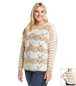 Jessica Simpson Plus Size Loreen Dolman Sweater
