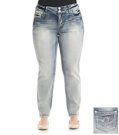 Wallflower® Plus Size Molly Skinny Cozy Jean