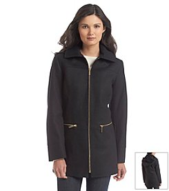 MICHAEL Michael Kors® Hooded Zipfront Jacket