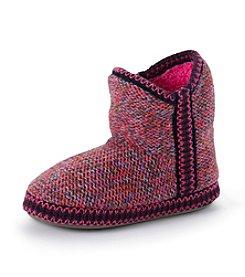 MUK LUKS Girls' Marled Yarn Short Mukluk Slippers