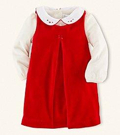 Ralph Lauren Childrenswear Baby Girls' Velour Jumpsuit *
