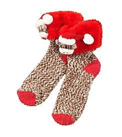 Legale® Popo Cuff Monkey Slipper Socks