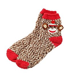 Legale® Monkey Critter Feather Slippers *