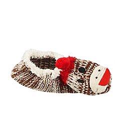 Legale® Mary Jane Sock Monkey Slipper Socks