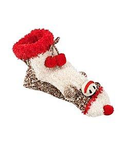 Legale® Monkey In The Toe Slipper Socks