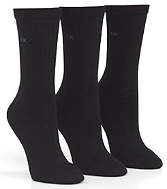 Calvin Klein 3-Pack Lux Socks