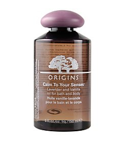 Origins® Calm To Your Senses™ Lavender And Vanilla Oil For Bath & Body