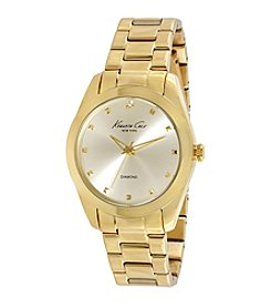 Kenneth Cole New York® Women's Goldtone Diamond Watch