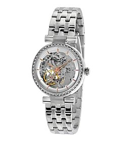 Kenneth Cole New York® Women's Silvertone Automatic Watch