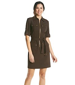 MICHAEL Michael Kors® Roll Sleeve Dress With Belt