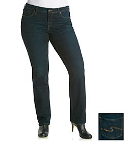 Silver Jeans Co. Jeans Plus Size Aiko Straight Jean