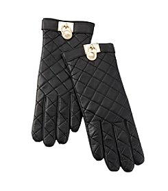 MICHAEL Michael Kors® Quilted Leather Gloves