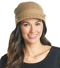 MICHAEL Michael Kors® Dark Camel Peak Hat