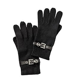 MICHAEL Michael Kors® Black Belted Gloves