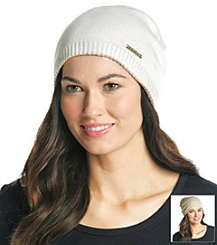 MICHAEL Michael Kors® Cream Reversible Jersey Hat