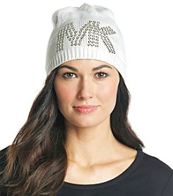 MICHAEL Michael Kors® Cream Pin Dot Logo Hat