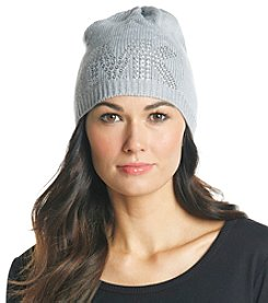 MICHAEL Michael Kors® Pearl Heather Pin Dot Logo Hat