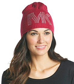 MICHAEL Michael Kors® Shocking Pink Pin Dot Logo Hat