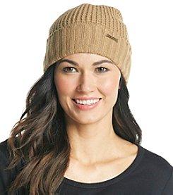 MICHAEL Michael Kors® Dark Camel Cuff Hat