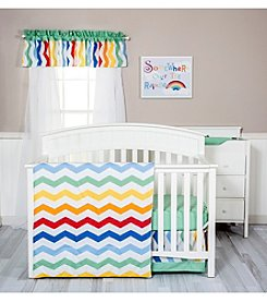 Trend Lab Happy Chevron Baby Bedding Collection