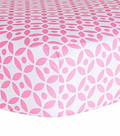 Trend Lab Lily Lattice Crib Sheet