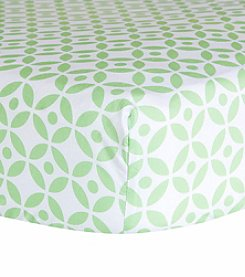 Trend Lab Lauren Lattice Crib Sheet