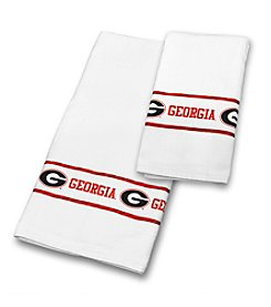 NCAA® University of Georgia Towel Set