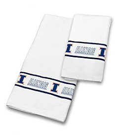 University of Illinois Sports Coverage® Towel Set
