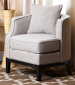 Abbyson Living® Eva Fabric Corner Chair