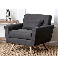 Abbyson Living® Bradley Tufted Fabric Armchair