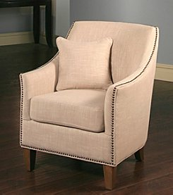 Abbyson Living® Kimberly Fabric Nailhead Trim Chair