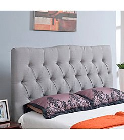 Abbyson Living® Aspen Tufted Linen Headboard
