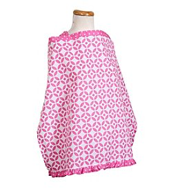 Trend Lab Lily Lattice Nursing Cover