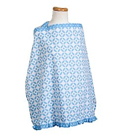 Trend Lab Logan Lattice Nursing Cover