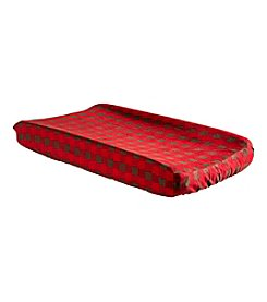 Trend Lab Northwoods Buffalo Check Changing Pad Cover