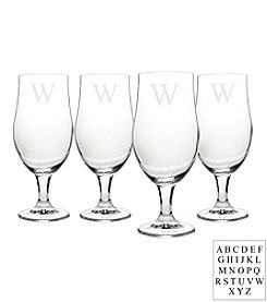 Cathy's Concepts Personalized Set of 4 Stemmed Goblets