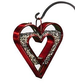 Good Directions® Heart Fly-Thru™ Ruby Bird Feeder