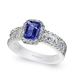 Effy® Tanzanite and .73 ct. t.w. Diamond Ring